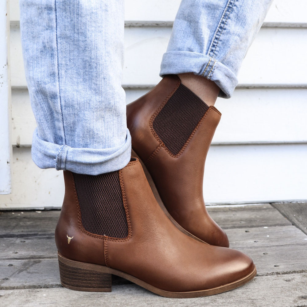 5e8de8206ef Windsor Smith Ravee Gusset Boot - Shop Street Legal Shoes - Where ...